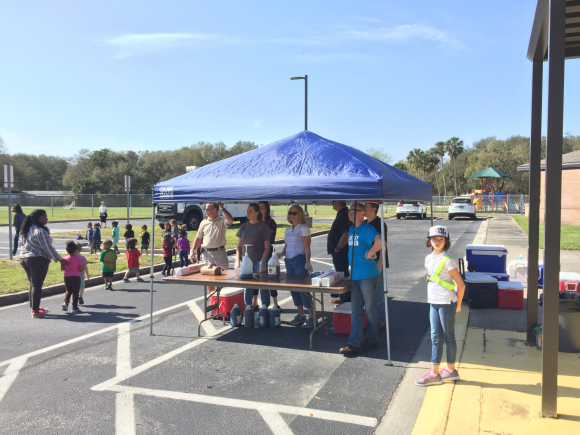 A Fun Morning Serving At Mayport Elementary School